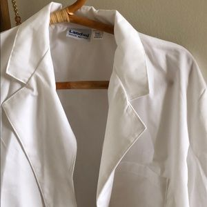landau small lab coat microbiology nursing